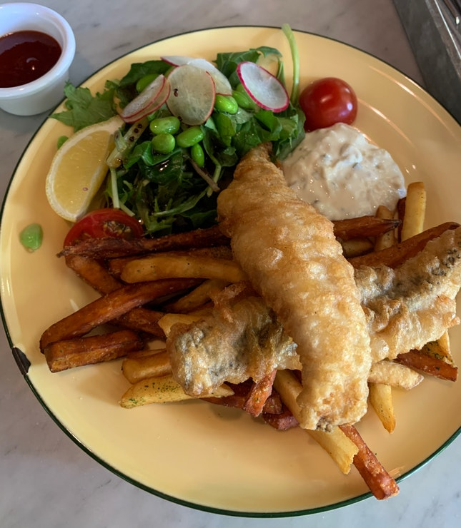 Fish & Chips (Grouper)