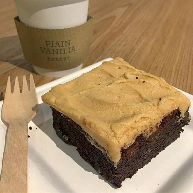 Peanut Butter Chocolate Brownie