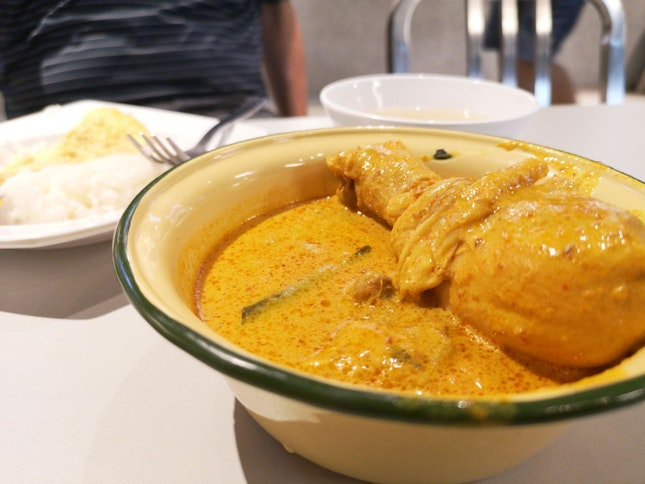 Curry Chicken From Famous Curry Chicken [$7.50]