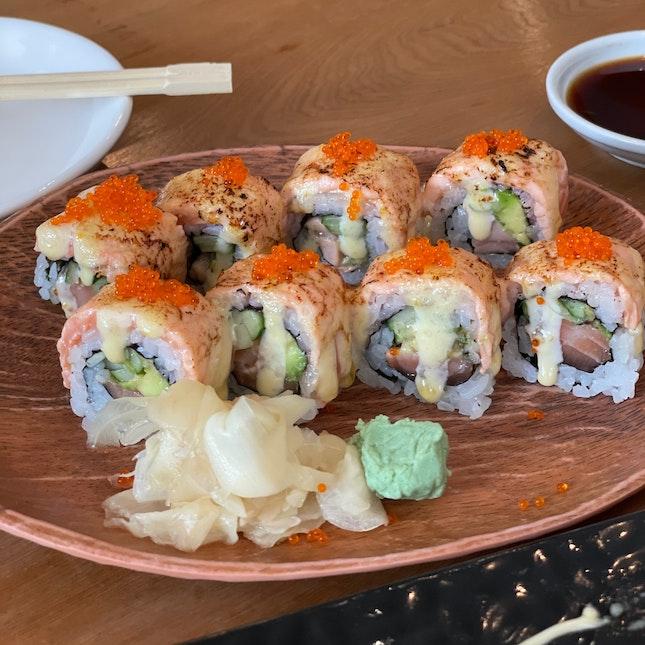 All Salmon Roll