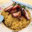 Char Siew Wanton Noodles | $3.50