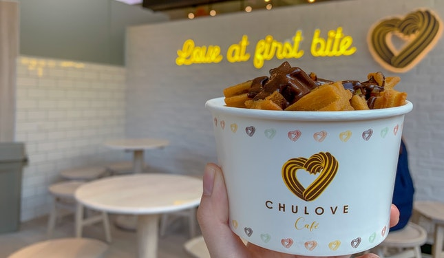 Mini Churros With Dark Chocolate Sauce | $4.50