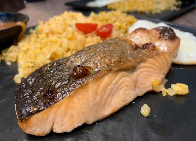 Pan Seared Salmon | $14.80