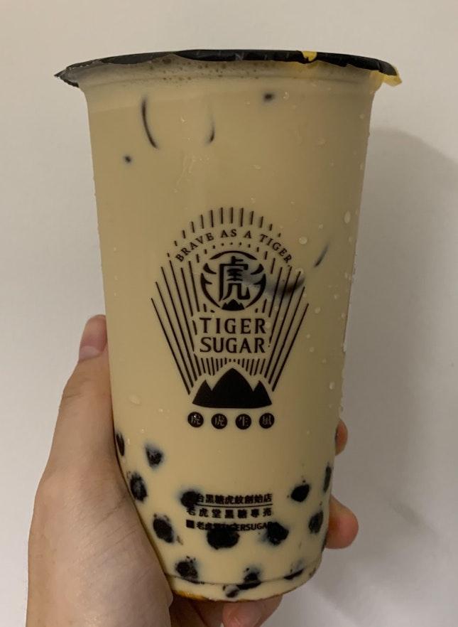 Brown Sugar Boba Milk Tea | $5.30