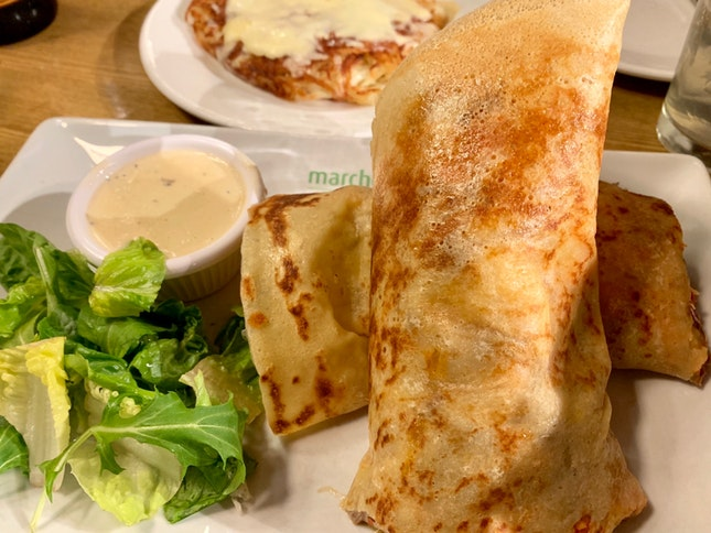 Pulled Beef Crepe | $18.90