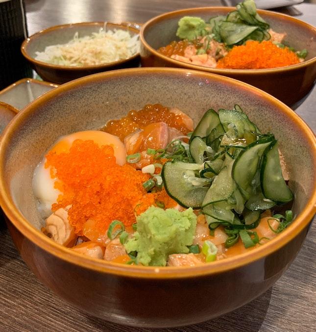 Bara Chirashi Don + Onsen Egg | $19.90