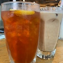 Wild Iced Tea + Iced Latte | $8 + $7.50