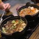 Beef Rib Stew (Soy) & Pork Rib Stew (Spicy Level 2)