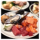 Hadn't had sashimi in ages, so we pretty much destroyed the sashimi counter on our visit to Buffet Town.