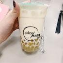 Chrysanthemum Milk Tea With Chrysanthemum Pearl