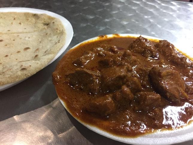 Mutton Masala W Chapati