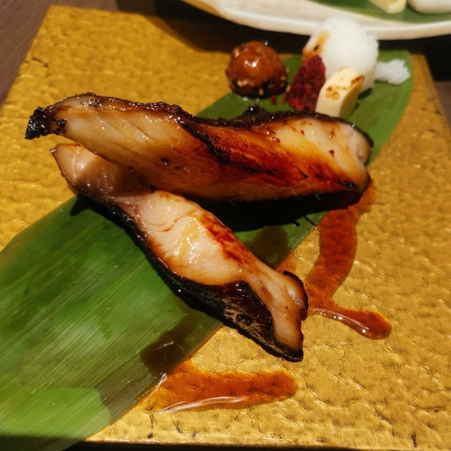 Charcoal Grilled Teriyaki Black Cod (S$21.90)