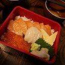 Salmon Hotate Don