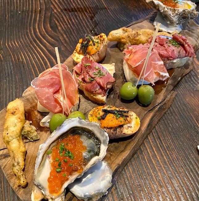 Omakase Appetiser Platter