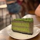 Matcha Sesame Cake.