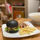 Charcoal Burger.