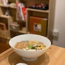 Miso Soba Noodle Soup.
