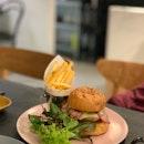 Pork Burger.