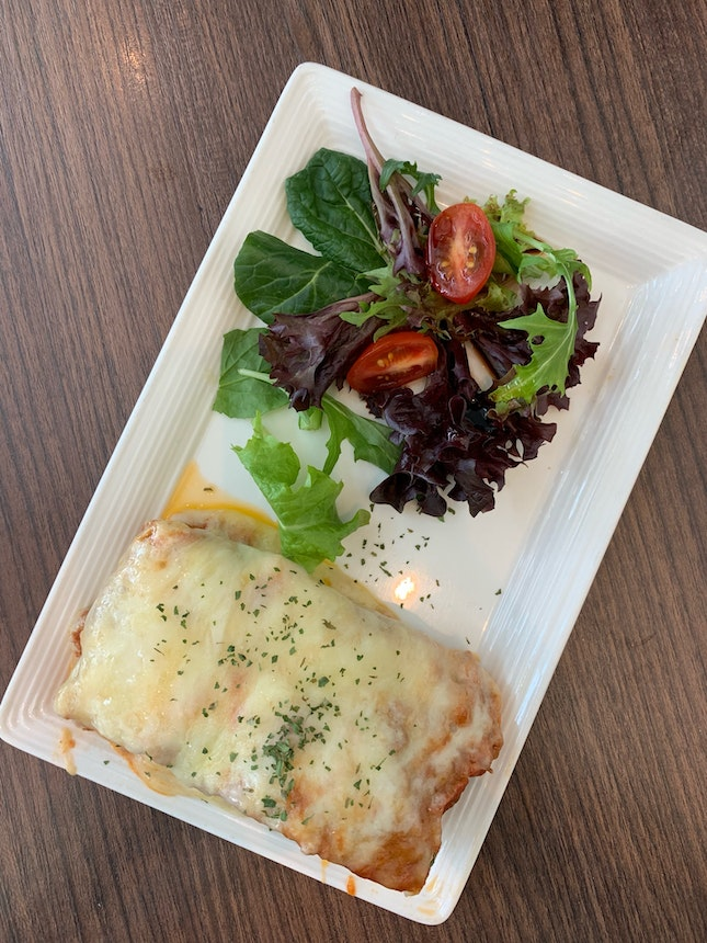 beef lasagne - nothing special