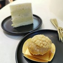 Durian cake and puff