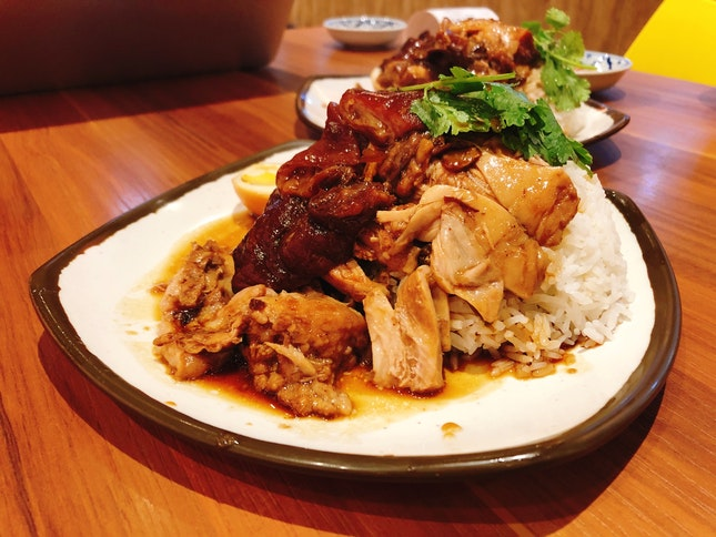 Pig Trotter Rice