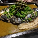 Grilled fish With Green Pepper ($45.90)