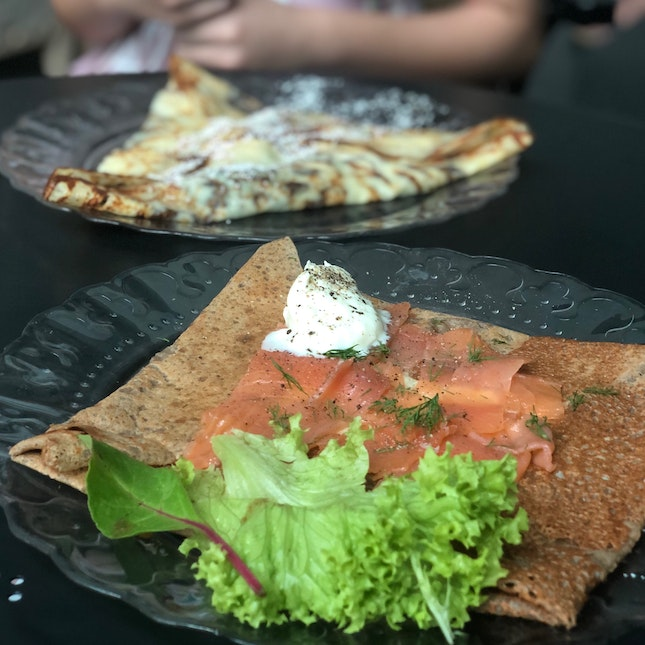 Galette  and crepes