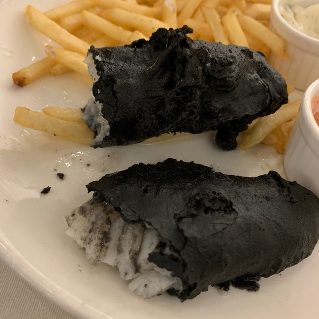 Blacken Fish & Chips