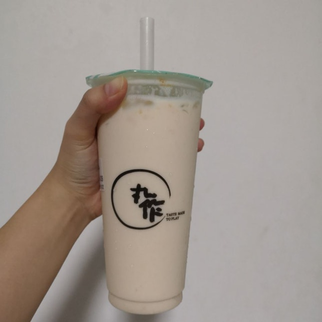 Peach Milk tea
