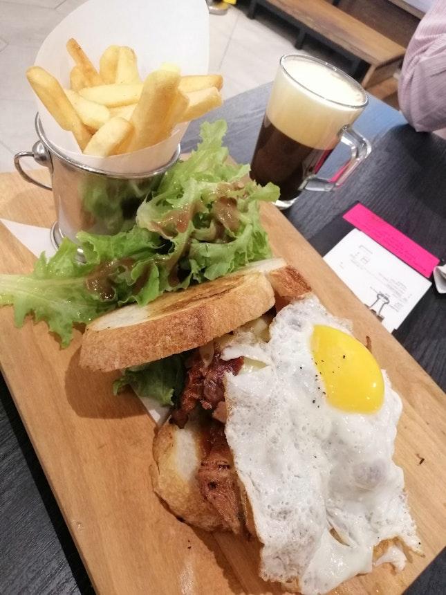 Fatty Chicken Sandwich