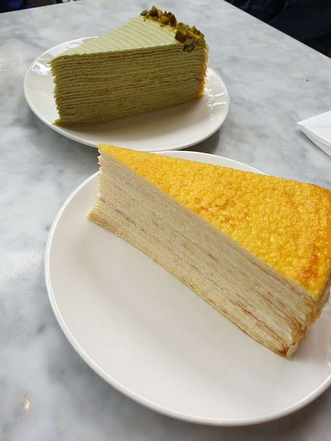Lady M Mille Crepe Cakes