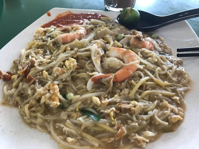 The Best Fried Prawn 🦐 Noodles