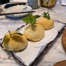 Baked YuZu Char Siew Bao at MASA