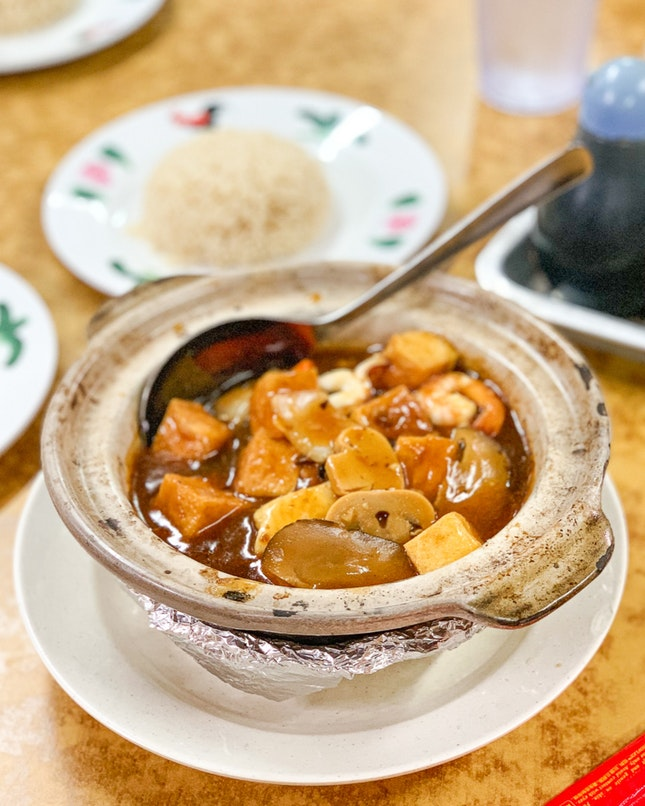 Claypot Tofu with Black Bean Sauce