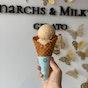 Monarchs & Milkweed Gelato