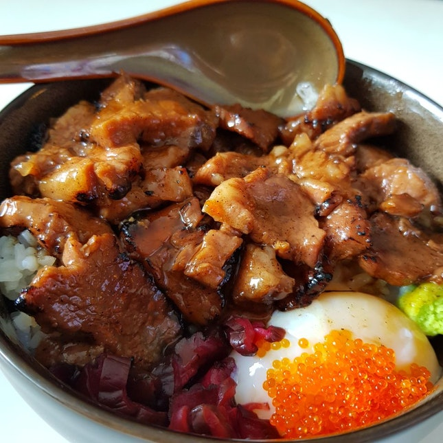 Double Meat Wagyu Beef Donburi
