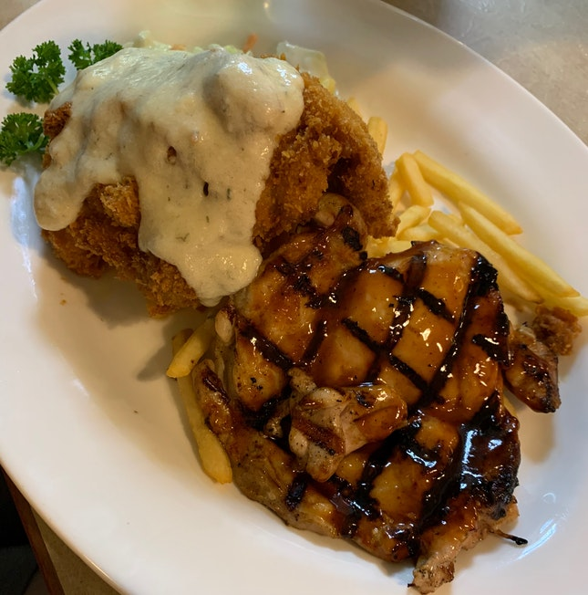 Double Up Chicken ($13.50)
