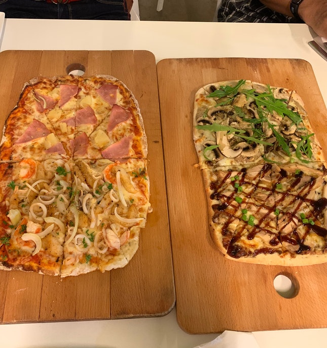 Rectangle Pizzas!