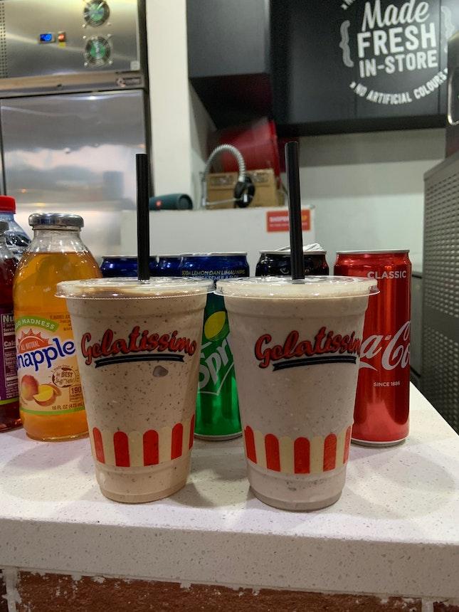 Milkshakes ($8.90)