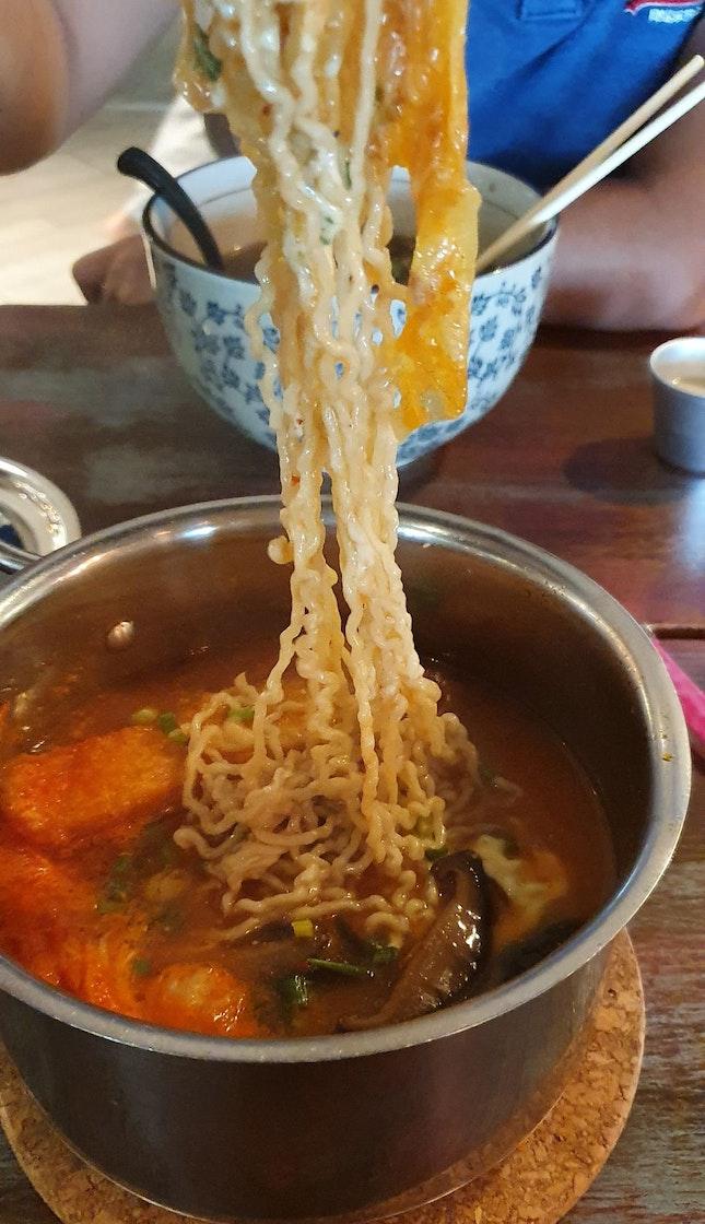 Kimchi Noodles - Great Comfort Food!