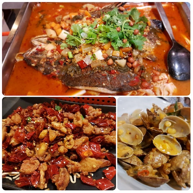Grilled Fish Lunch buffet ~ 1 For 1