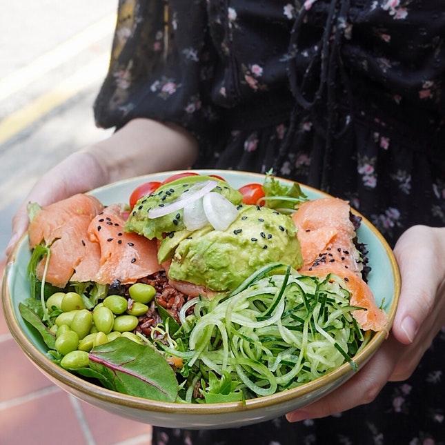 Smoked Salmon Salad $17