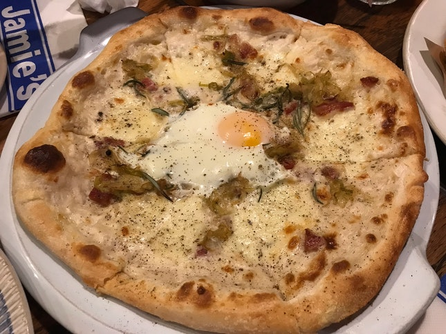 The Carbonara Pizza