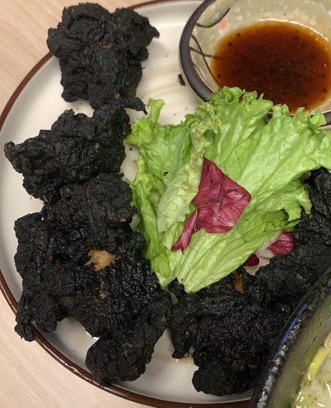 Charcoal Karaage Chicken
