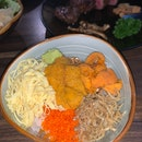 Ribeye Uni Lunch Set