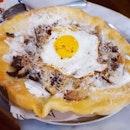 Truffle Mushroom Pizza Fritta - $24