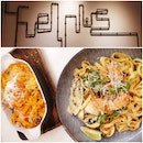 Tom Yum Seafood Pasta($17) & Truffle Salmon Mac & Cheese Pasta($18)
