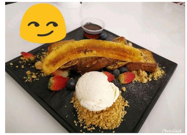 Fruity Toast Dessert