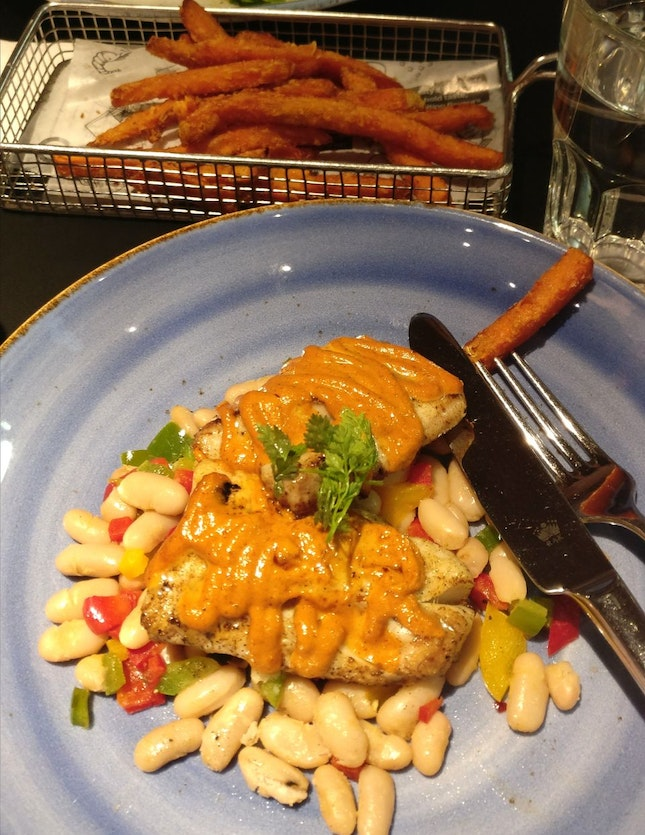 Baked Haddock And Beans