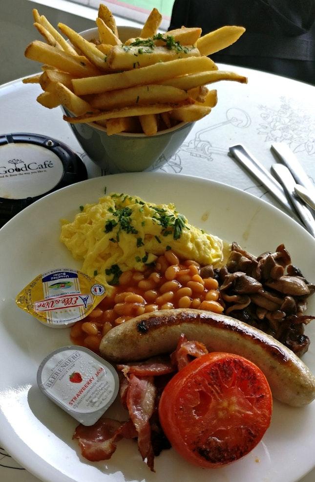 English Breakfast (16.50sgd)